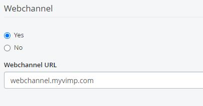 ViMP Webchannel